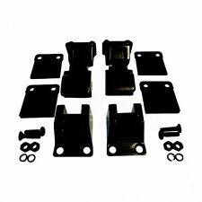 Jeep CJ Wrangler YJ Haubenhalter Set Haubenhaken schwarz in TJ Optik 55-95