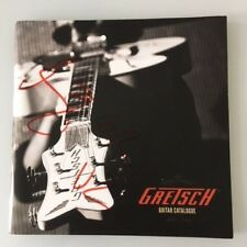 U2 Bono Billy Gibbons Duane Eddy Signed Autographed Gretsch Guitar Catalogue