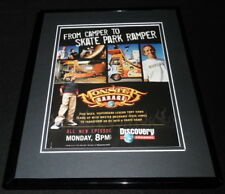 Monster Garage 2003 Discovery Framed 11x14 ORIGINAL Advertisement Tony Hawk