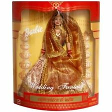 Barbie Doll Wedding Fantasy Dressed in a Gorgeous Indian bridal outfit