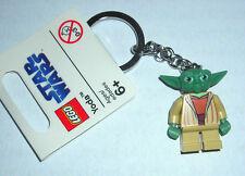 "LEGO STAR WARS YODA 1.5"" FIGURE KEYCHAIN NEW"
