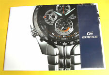 Casio EDIFICE Racing Sport Collection Watch Catalog Book