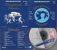 EKSEPTION - Ekseptional Classics, Greatest Hits (16 Original track) CD Prog