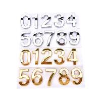 House Hotel Door Address Plaque Number Digits Sticker Plate Sign House JIPK