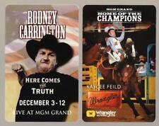 MGM GRAND casino* *las vegas hotel PAIR OF **2** key cards*fast safe ship #58