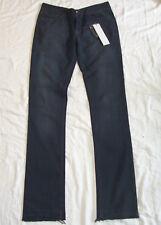 RICK OWENS Drkshdw Grey Distressed Stretch Jeans 30