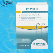 Bayrol pH Plus Granulat 1,5kg ph + Heber Regulierung Pool Schwimmbad