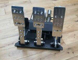 New OBP PRO RACE V2    [3 Pedal Hydraulic System]  Sim Racing Pedals