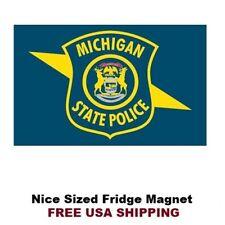 314 - Michigan State Police Refrigerator Fridge Magnet