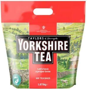 Taylors of Harrogate Yorkshire Tea Bags 1040, 600 OR 160 Tea Bags