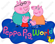 Peppa Pig Family  T Shirt Iron on Transfer #1