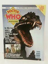 DOCTOR WHO Magazine DWM #177 September 1991