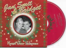 JAN SMIT & BRIDGET - Kerst voor iedereen CD SINGLE 1TR Enh Dutch Cardsleeve 2005