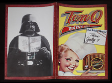 STAR WARS BROCHURE ⌦JULY1977 LIVE-IN-PERSON DARTH VADER RADIO STATION APPEARANCE
