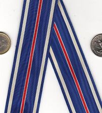 ONE FOOT+ WWII era US Distinguished Flying Cross Medal Ribbon DFC Air Force Navy