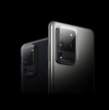 Protector Cristal Templado Lente Camara Para Samsung Galaxy S11 + / S20 Ultra