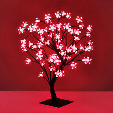 45cm LED Bonsai Tree with 72 Red LED Fairy Lights Branch Twig Lights Lamp