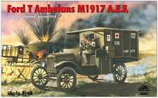 FORD T AMBULANCE M1917  WW I AMERICAN EXPEDITIONARY CORPS (FRANCE 1918) 1/48 RPM