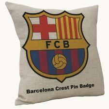 45cm Print Decorative Barcelona Football Club Pillow Cushion Cover Home Seat