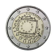"Slovakia 2 Euro commemorative coin 2015 ""30 years of EU flag"" - UNC"