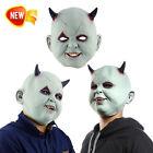 Halloween Demon Zombie Mask Latex Horrible Masquerade Party Horrifying Supplies
