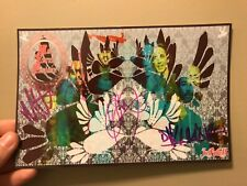 Incubus Signed Card 5x9 Designed by Jose Pasillas