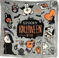 BTS Spooky Halloween BT21 Q Version Cartoon TATA COOKY CHIMMY Blanket