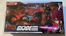 GI Joe Classified Baroness With Cobra Coil MIB 6? Cobra Island Great Shape Rare!