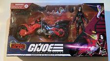 GI Joe Classified Baroness With Cobra Coil MIB 6? Cobra Island Great Shape Rare!
