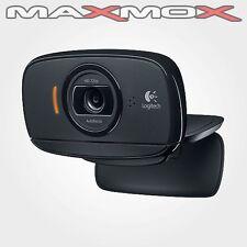 Logitech HD USB 2.0 Webcam B525 PC Computer Kamera Audio Mikrofon Farbe neu
