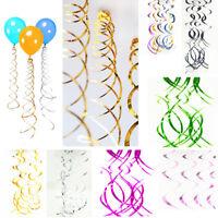Hanging Spiral Swirls Birthday Wedding Ceiling Decoration Party Supplies Garland