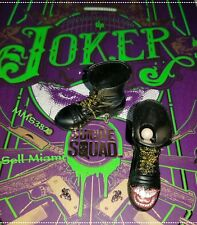 1/6 Hot Toys Suicide Squad The Joker MMS382 Pair of Black Boots With Graphic