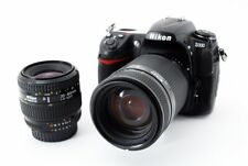 NIKON D300 12.3MP 35-80/70-210mm Lens Set Black [Exc+++] w/Box,Strap Japan [601]