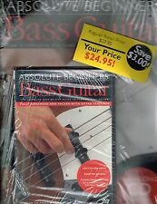 Absolute Beginners : Bass Guitar by Phil Mulford (1999, CD/ DVD/ Paperback)  NEW
