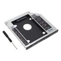 Apple Macbook Pro Unibody 2nd HDD SSD SATA Bay Hard Drive Caddy Optical Bay UK