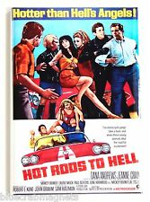 Hot Rods to Hell FRIDGE MAGNET (2 x 3 inches) movie poster car
