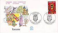 Enveloppe 1er jour FDC n°1138 - 1979 : Région Lorraine