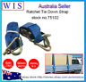 Ratchet Tie Down(Hook & Keeper) 1000Kg x 50mm 6m w Swan Hook,Ratchet Strap-75102