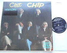 LES HOU-LOPS C'est Chip VG CANADA QUEBEC 1965 GARAGE MONO FRENCH APEX LP Vinyl