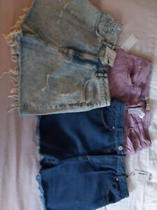 ladies Summer Shorts bundle size 14