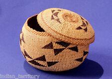 Hupa Indian Tobacco Basket c.1920