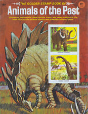 """the Golden Stamp Book of animals of the Past"" painted by M. Kalmenoff Complete"