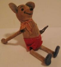 Beautiful Antique Wind Up Toy Mouse W Key Germany