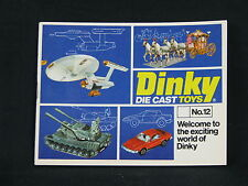 Dinky Die Cast Toys Catalogue No.12