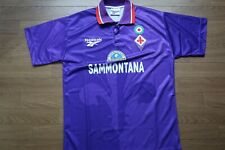 Fiorentina 100% Original Jersey Shirt L 1995/1996 Home Good Condition Rare [907]