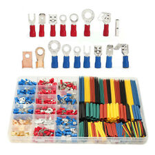 350pcs Wire Terminals Amp 328pcs 21 Heat Shrink Tube Assorted Connectors With Box