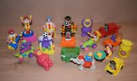 17 x McDonald's Happy Meal Vintages Figures Clown from 1989 to 1995 Toys F20
