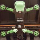 Vortex 250 Pro by ImmersionRC 5 Piece Skid Plate Set 3D Printed GREEN