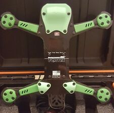 Vortex 250 Pro by ImmersionRC 5 Piece Skid Plate Set 3D Printed GREEN
