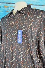 NEW Reaction Kenneth Cole Men's Shirt Size XXL Party Colorful 2 XL $64 Delicate